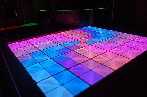 led dance floor - dj david edry