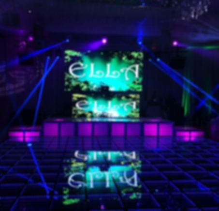 light up boxes stage