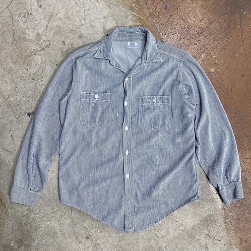 60s Hickory Stripe Work Shirt