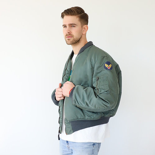 1988 Air Force MA-1 Bomber Jacket