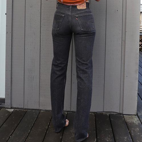 Vintage Black Levi's 501 Denim Jeans