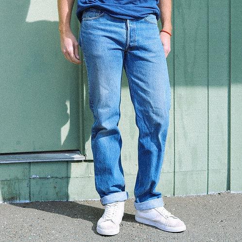 80s Levi's 501 Blue Jeans