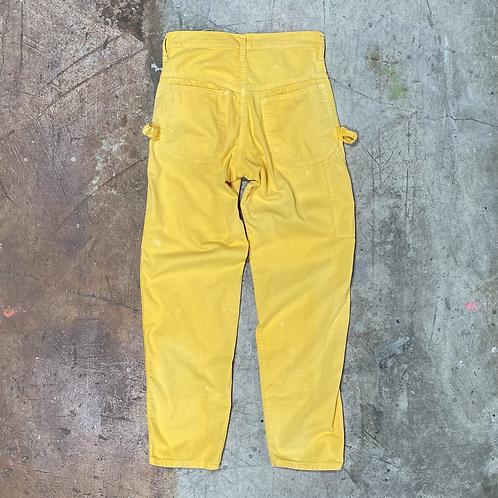 Vintage Gap Yellow Carpenter's