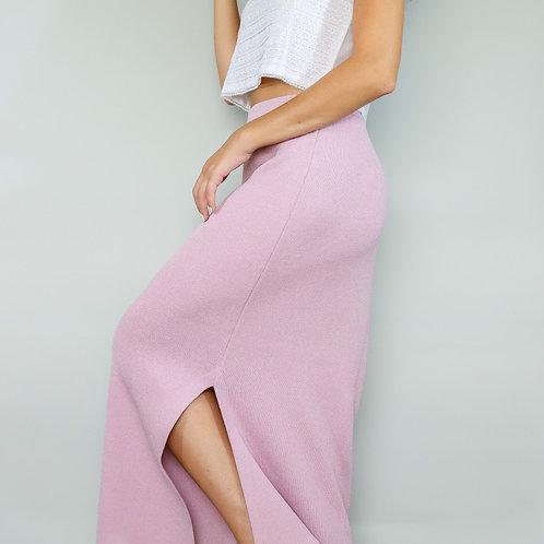 St. Johns Lavender Knit Skirt