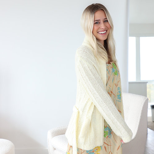 Knit Robe Sweater