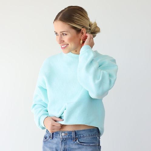 Tiffany Blue Crewneck Sweatshirt