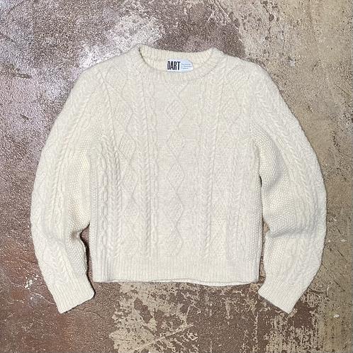 Wool Fisherman's Knit Sweater