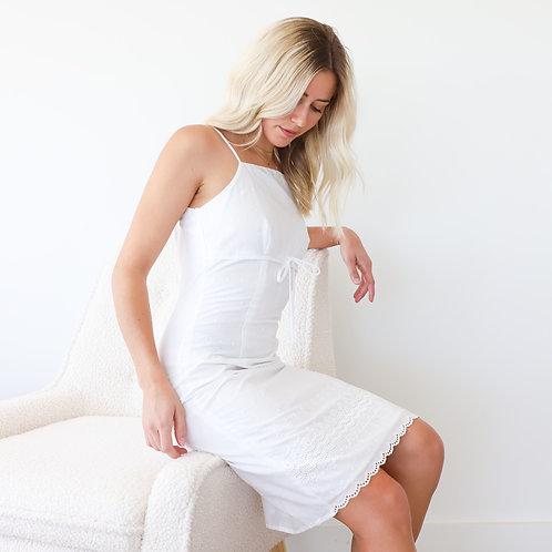 90s White Dress