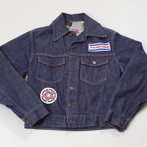 70s Roebuck's Hand-Stitched Denim Jacket