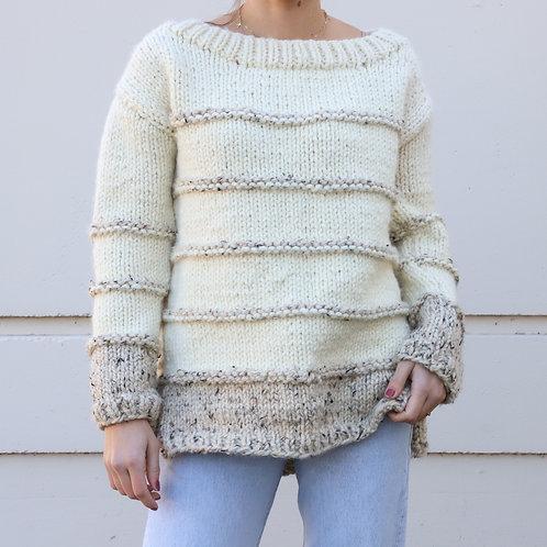 Chunky Wool Knit Sweater