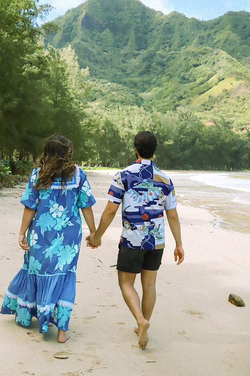 Abstract Aloha Shirt