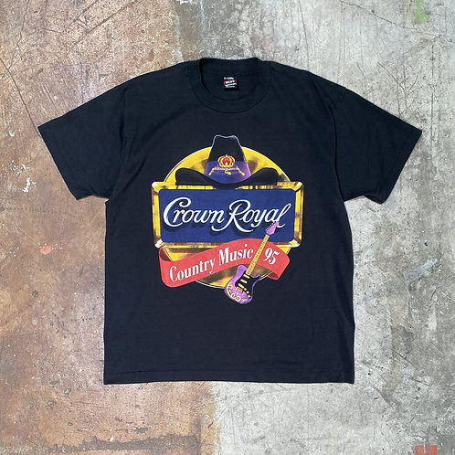 '95 Crown Royal Country Music Tour T-Shirt