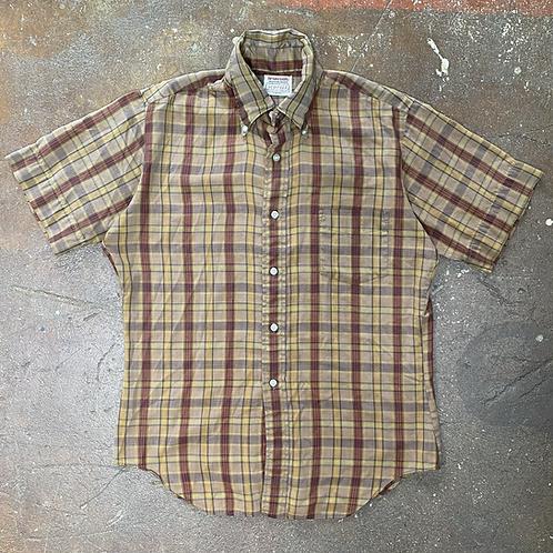60s Plaid Shirt