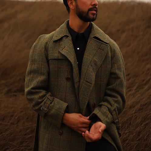 Pendleton Wool Plaid Pea Coat