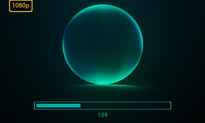 Glowing Audio Spectrum - After Effects Template