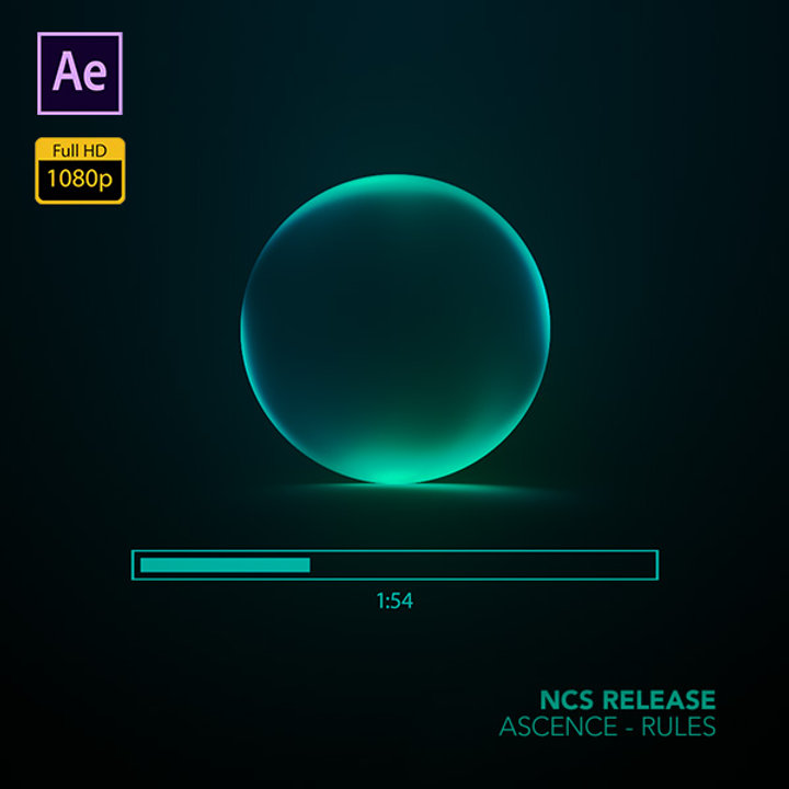 Glowing Audio Spectrum - After Effects Template - Avnish Parker