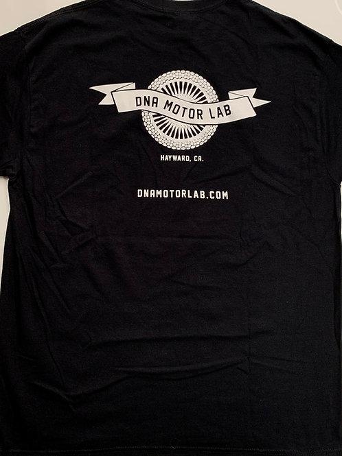 DNA Wheel & Banner T-Shirt
