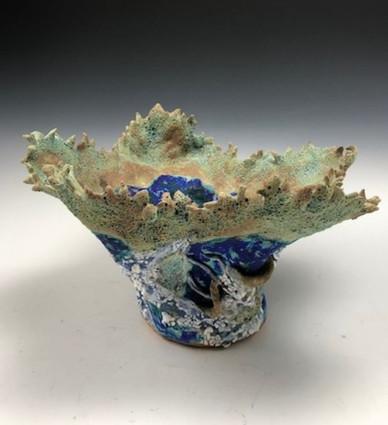 Coral Treasure Vase