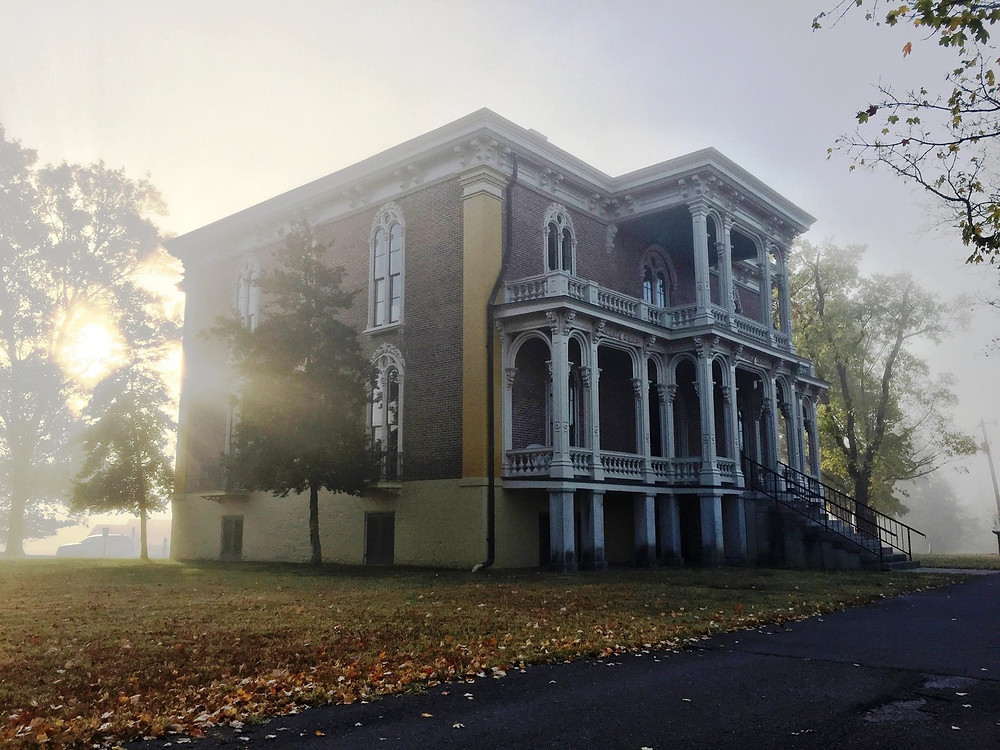 Clover Bottom Mansion: Picture is Credited to Tennessee Historical Commission's Facebook Page