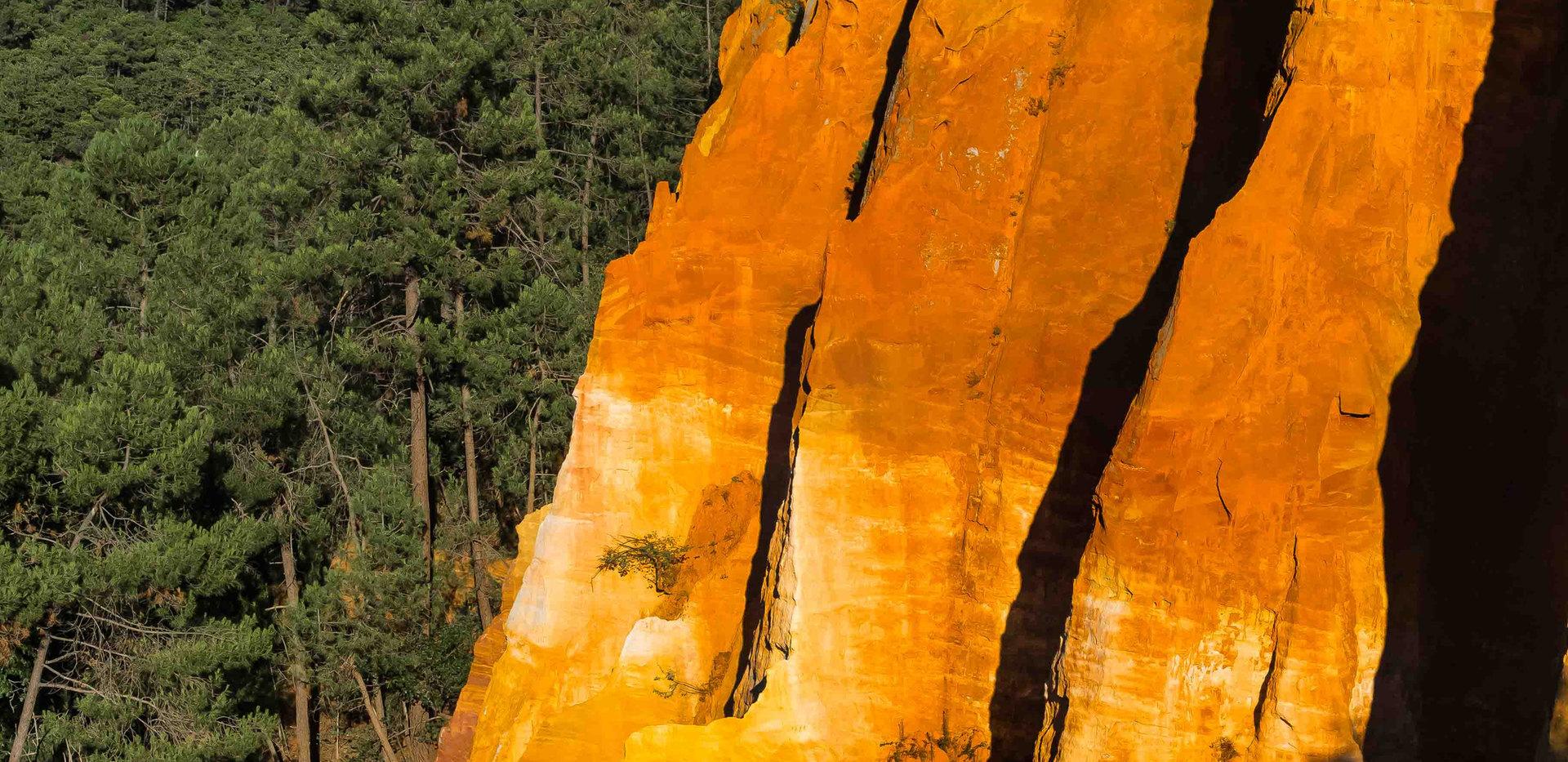 Farben der Provence   Roussi