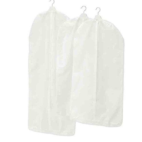 СКУББ чехлы для одежды белые