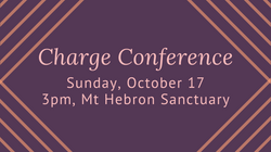 Charge Conference 2021