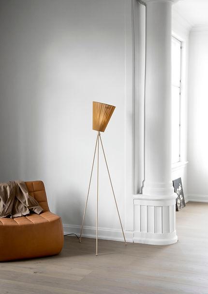 Oslo_Wood_lamp_beige_caramel_Yam_Norther
