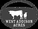 West Addison Acers Logo - Beef Farm Vermont