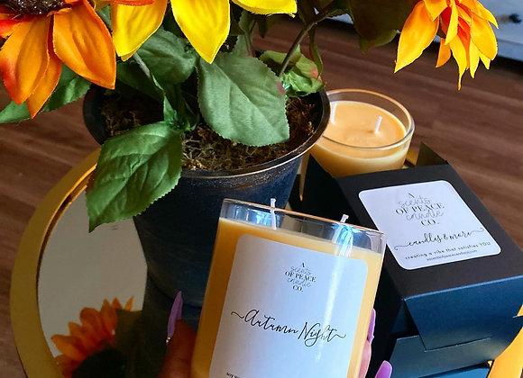 Autumn Night Luxury Candle