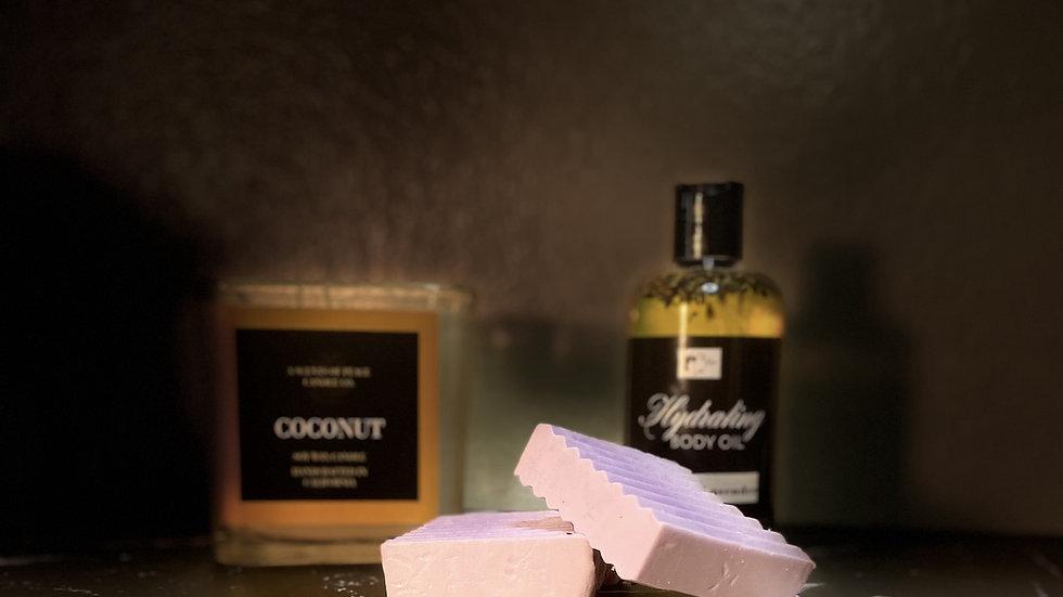 Lavender Coconut Bar