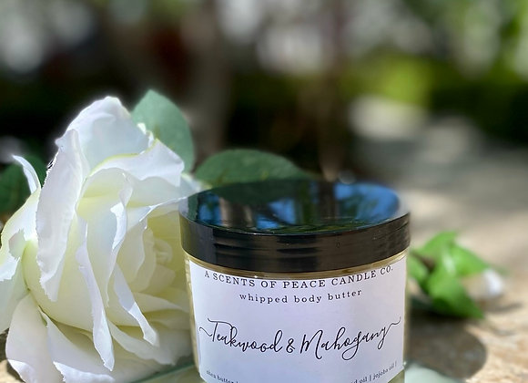 Teakwood & Mahogany Whipped Body Butter