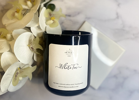 White Tea Luxury Candle