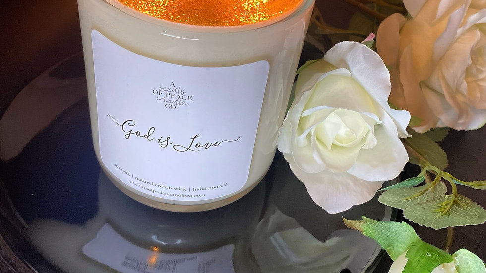God is Love Luxury Candle