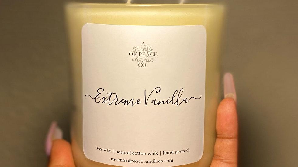 Extreme Vanilla Luxury Candle