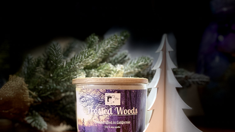 Frosted Woods Soy Candle