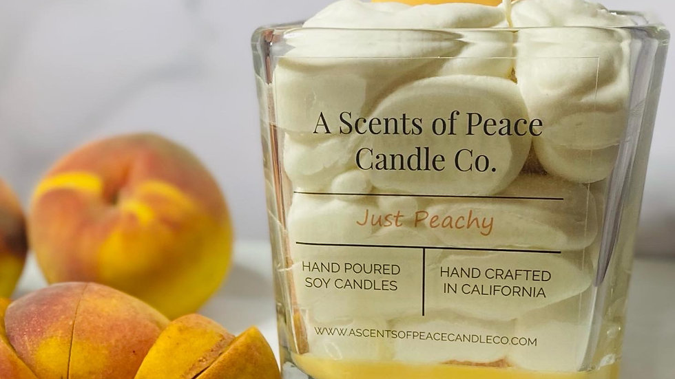 Just Peachy Candle