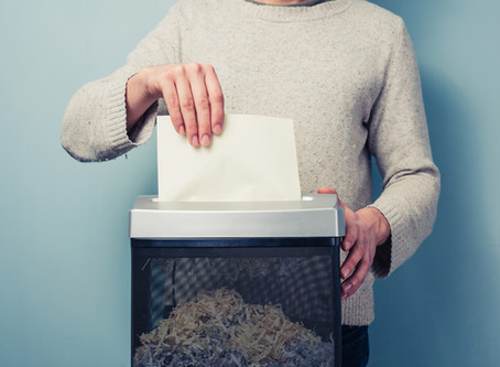 To Shred or Not to Shred: Tax Season Preparation