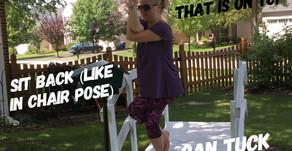 Quick Breakdown of Eagle Pose