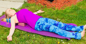 Tuesday Tip of the Day - Restore with Fish Pose