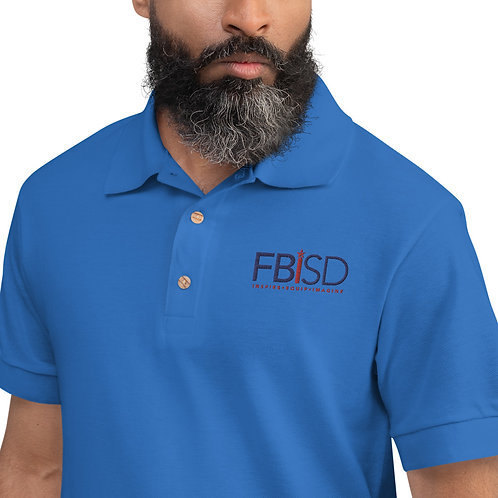 FBISD Embroidered Polo Shirt