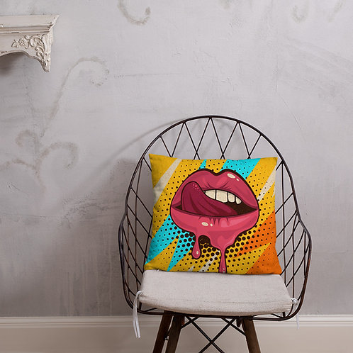 Retro Mouth Pillow