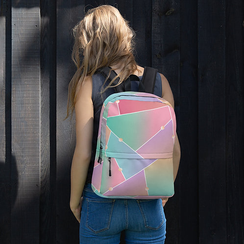 Glass Pattern Backpack