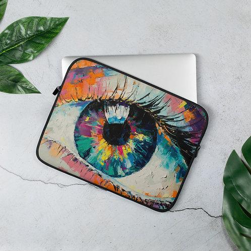 Fluorite Oil Painting Laptop Sleeve