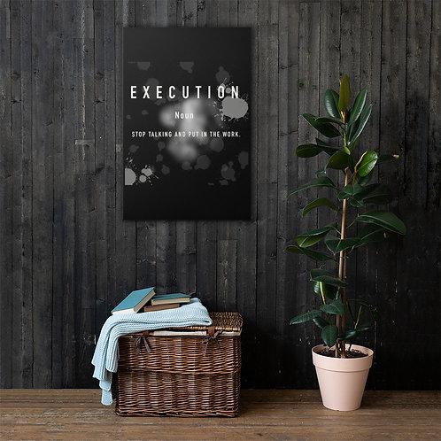 Execution Canvas