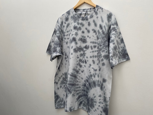 XXL TEE// GREY MULTIPLE SWIRL