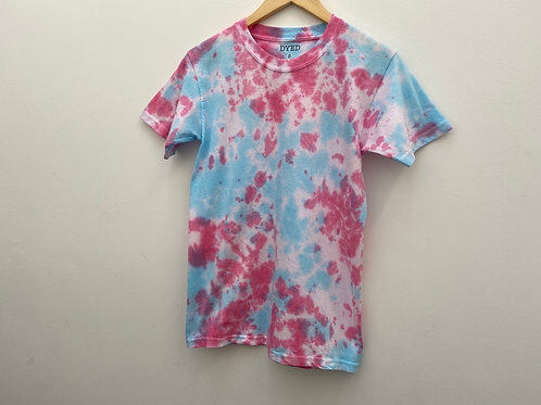 SMALL TEE// PINK & BLUE