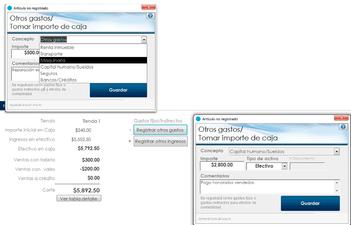 Registrar otros gastos e ingresos (indirectos)