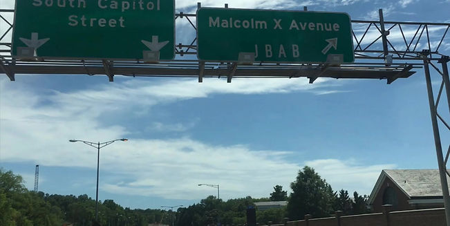 The District Department of Transportation (DDOT) began construction on the I-295/Malcolm X Interchange Improvement Project on September 4, 2018.The multiple phases of this project include the reconstruction of the I-295 interchange with Malcolm X Avenue SE, including modified ramps and a new access roadway to the St. Elizabeth's West Campus. The planned improvements will be made between Firth Sterling Avenue SE, on the north, and the South Capitol Street/Martin Luther King, Jr. Avenue SE intersection to the south.The work will include temporary lane closures and construction-related detours that will impact traffic. The work zone will shift in various phases and will be marked with the appropriate directional signage.