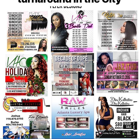 Need a Flyer for your brand or business