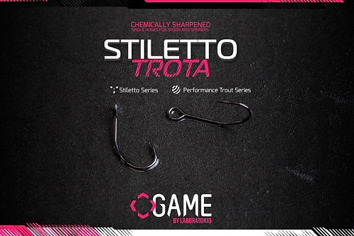 Безбородые крючки Stileto Trotta